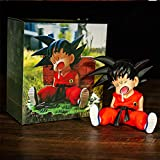 Dragon Ball Super Son GokuFigura De Acción paraDormir100 Mm, Dragon Ball Z Goku PVC Colección D...