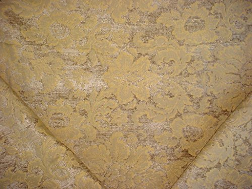 Chenille Floral Damask Fabric - 3
