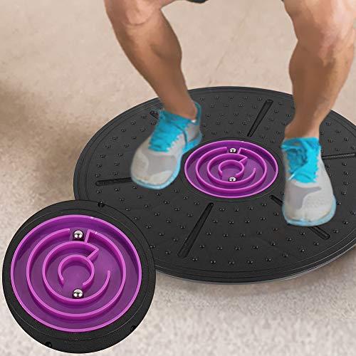 Nunafey Terapia Fisica di Balance Board Confortevole, Balance Board Kids, conveniente Durevole per Office Fitness Yoga Home
