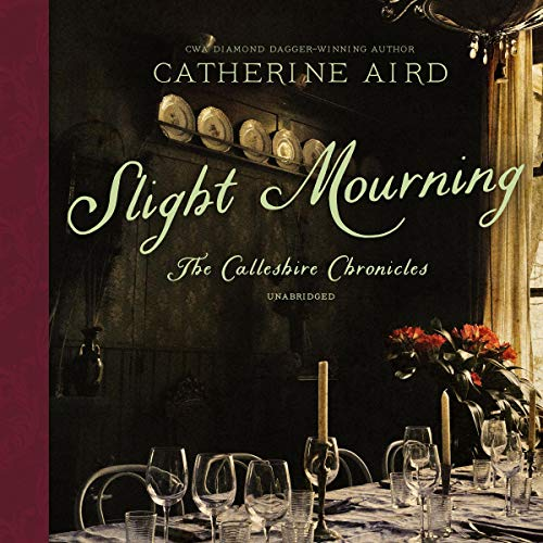 Slight Mourning audiobook cover art
