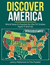 Discover America: Word Search Puzzles for the 50 States: Fun Word Puzzles for Kids Ages 9 and Up (Puzzler)
