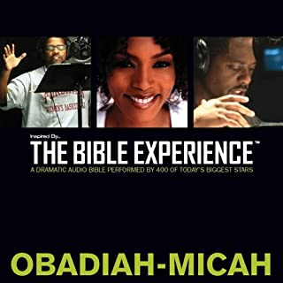 Inspired By … The Bible Experience Audio Bible - Today's New International Version, TNIV: (26) Obadiah, Jonah, and Micah audiobook cover art
