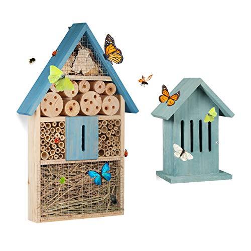 Schmetterlingshaus aus Holz