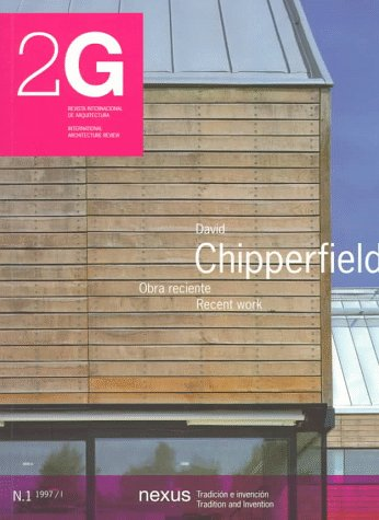 David chipperfield (revista 2g, nº1) (Current Architecture Catalogues)