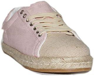 4dbd8fda PRIMAR Shoes - Zapatilla Lona Esparto Noemi T0139 Zapatillas Lonas Mujer  Azules Beige Casuales Urbanas Moda