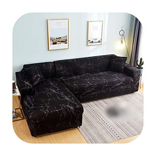 VACHE - Funda de sofá esquinera para mascotas, funda de sofá elástica para el salón, funda de sofá de poliéster extensible, Color 6, 1-Seat 90-140cm 1pc