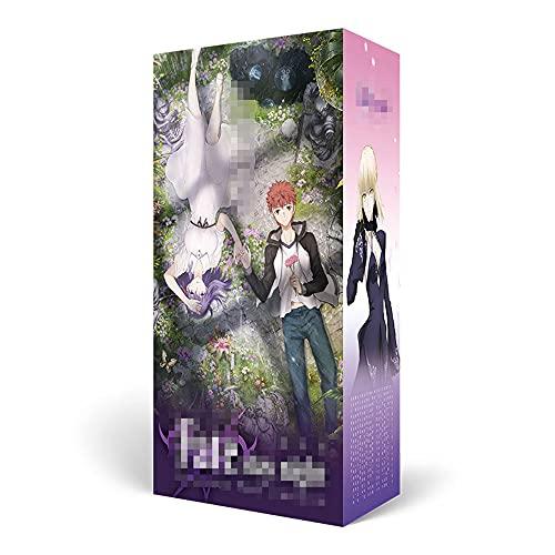 RUIXUE Fate/Stay Night Series/Juego de Caja de Regalo de Anime/Caja ciega de Anime/Artículos de Caja misteriosa/Periférico de Anime/Marcos de Fotos/Taza de Agua/Postal/Pulsera Deport