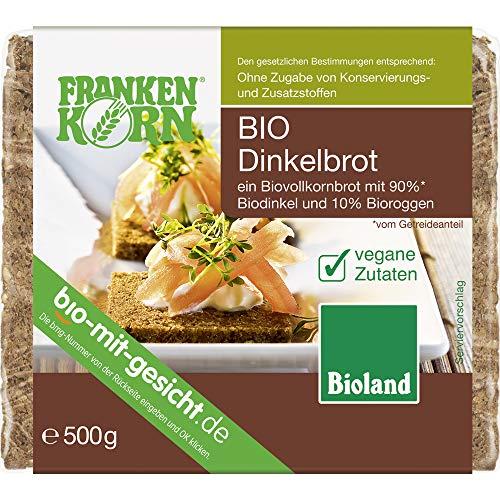Frankenkorn Bio Frankenkorn Bioland Dinkelbrot (6 x 500 gr)