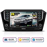 NEOTONE WRX-905B8 Autoradio für VW Passat B8 | Can-Bus integriert | Navigation mit Europakarten 2019 | DAB+ | 4GB Arbeitsspeicher | 32GB ROM | USB | Octa-Core | 4K Ultra HD | WLAN |...
