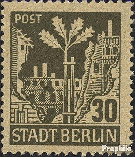 Prophila Collection Sowjetische Zone (All.BES.) 7A a v x geprüft 1945 Berliner B (Briefürken für Sammler)