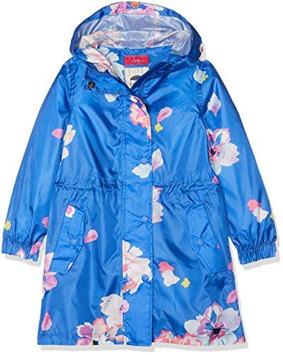Joules Tom Mädchen Golightly Regenjacke, Blau (Mid Blue Floral Midbluflrl), 116