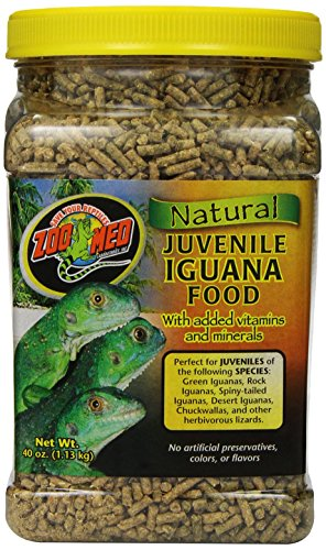 Zoo Med Natural Iguana Food Formula, 40-Ounce, Juvenile