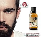 Olio da barba 3in 1:olio, siero e fluido per la stimolazione della crescita, 15ml