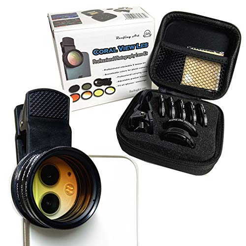 Coral View Lens Professional Photography 10 in 1 Kit Reef Lenses