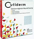 Cutiderm - Medicazione in Alginato di Calcio (10 x 10cm ) Confezione 10 Pezzi
