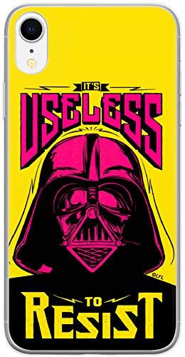 Carcasa de TPU para iPhone XR, diseño de Darth Vader de Star Wars, Flexible y Delgada, Protectora para Pantalla, a Prueba de Golpes y antiarañazos