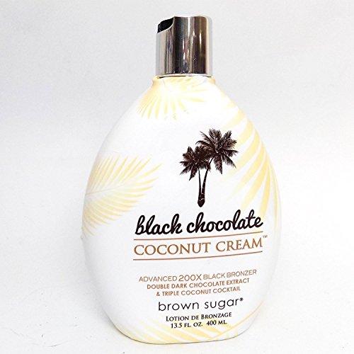 10. Black Chocolate Coconut Cream Bronzer Tanning Lotion