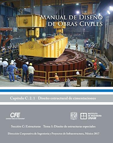 Manual de Diseño de Obras Civiles Cap. C.2.1 Diseño Estructural de Cimentaciones: Sección C:…