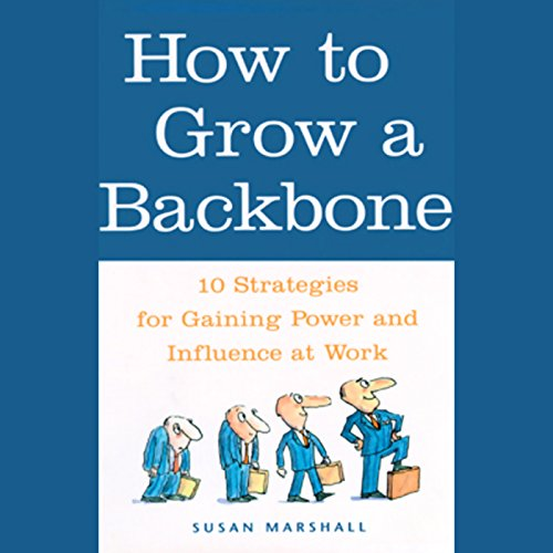 How to Grow a Backbone audiobook cover art