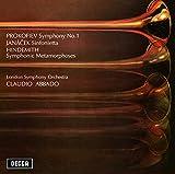 プロコフィエフ:交響曲第1番《古典》/ヤナーチェク:シンフォニエッタ 他