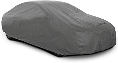 Coverking UVCCAR3N98 Universal Fit Car Cover for Sedan Length 14.3 ft. to 16.8 ft. - Car Coverbond 4 Moderate Weather Outdoor (Gray)