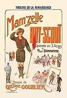 Mam'zelle Boy-Scout ファインアートキャンバスプリント (20インチx30インチ)