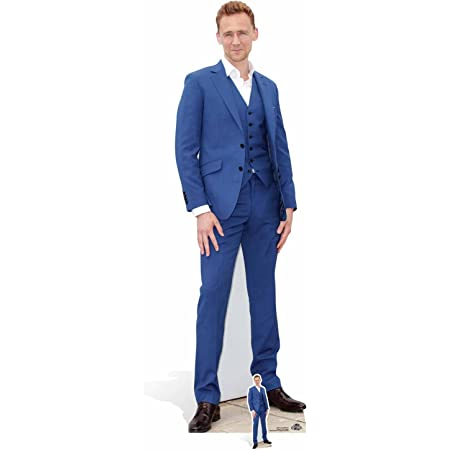 Star Cutouts Ltd Tom Hiddleston-Cartón de tamaño Real Recortado, Madera, Multicolor, 183 x 55 x 183 cm