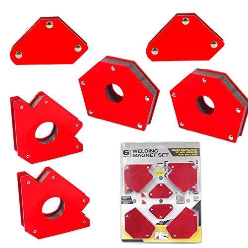 Forte Magnetico Saldatura Posizionatore Elettrico Saldatura Ausiliaria Staffa Magnetica Ad Angolo retto Magnetico Magnetico Smusso Multi-Angolo Magnetico