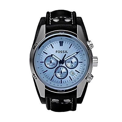 Fossil Herren Chronograph Quarz Uhr mit Leder Armband CH2564 zu einem TOP Preis.