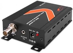 Atlona Technologies AT-HD120 Composite Video with Stereo Audio to HDMI Video Format Converter and Scalar