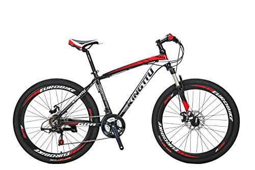 Excy 688 マウンテンバイク MTB 自転車本体 シマノ21段変速 アルミフレーム タイヤ26インチ ディスクブレー...