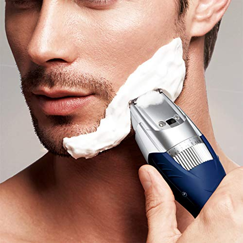 Panasonic Cordless Men's Beard Trimmer With Precision Dial, Adjustable 19 Length...