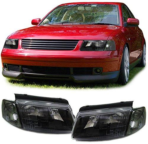 Carparts-Online 15971 Schwarze Scheinwerfer H7 H1 + Blinker