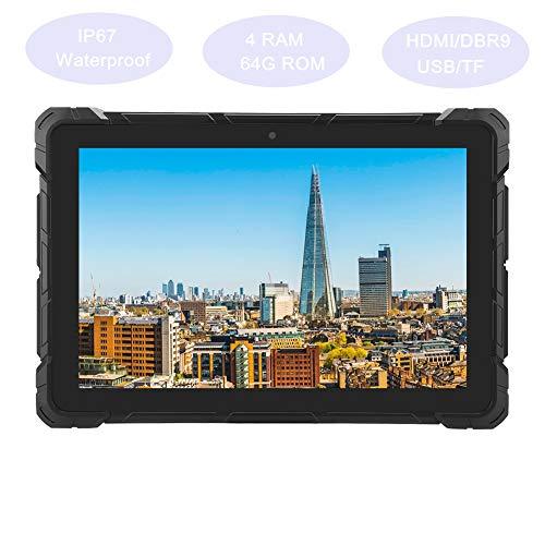 F7R 10.1inch RK3399 Android Tablet PC IP67 Impermeable a prueba de polvo Industrial Grade Tablet, para sistema Android 7.1, memoria 4 + 64G, adecuado para proyectos al aire libre, defensa nacional(UE)