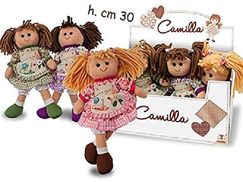 Teorema Giocattoli Camilla Vintage Bambola, 30 cm,Modelli assortiti , 1 pezzo