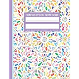 Composition Notebook: wide Ruled Paper Notebook , Journal, Lined Workbook for Teens Kids Students Girls for Home School College ,110 Pages (8.5x9.11)