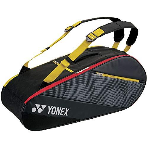 YONEX Aktive Badmintontasche schwarz/gelb