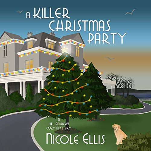 A Killer Christmas Party Audiobook By Nicole Ellis cover art