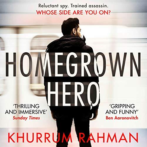 Homegrown Hero audiobook cover art