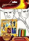 Indiana Jones  Farb-und Aufkleber-Set