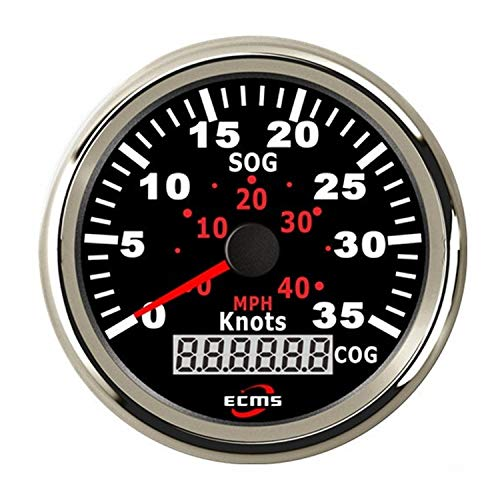 Check Out This Waterproof Boat Yacht 85mm GPS Speedometer 0-35MPH 0-60KM/H with COG for Car Truck Bo...