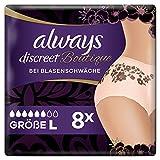 Always Discreet Boutique Höschen Bei Blasenschwäche Large, 8 Stück