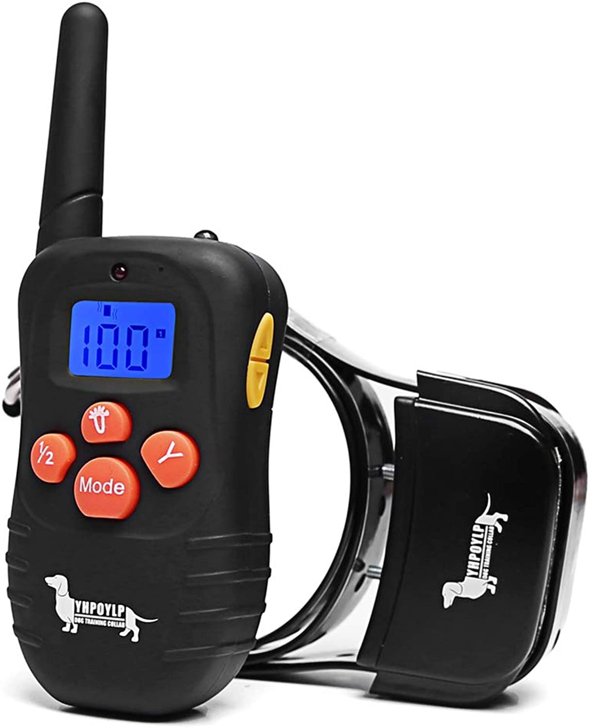 BEHEART Remote Dog Training Collar with Beep Vibration Shock, ECollar for Small Medium Lager Dogs