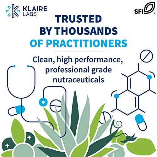 Klaire Labs Adrenal Cortex 250 mg - Hypoallergenic Adrenal Support Supplements for Women & Men - Gluten-Free, Corn-Free (120 Capsules)