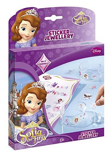 Totum - Bj640054 - Kit De Loisirs Créatifs - Disney Sofia - Sticker Jewellery