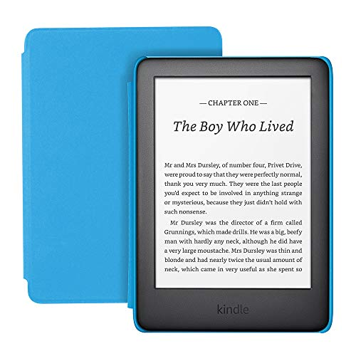Kindle Kids   Includes access to over a thousand books, Blue Cover