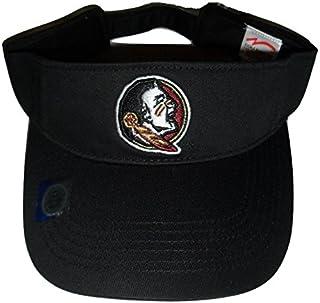 online store eae09 776c7 Florida State Seminoles FSU Logo Visor, Black