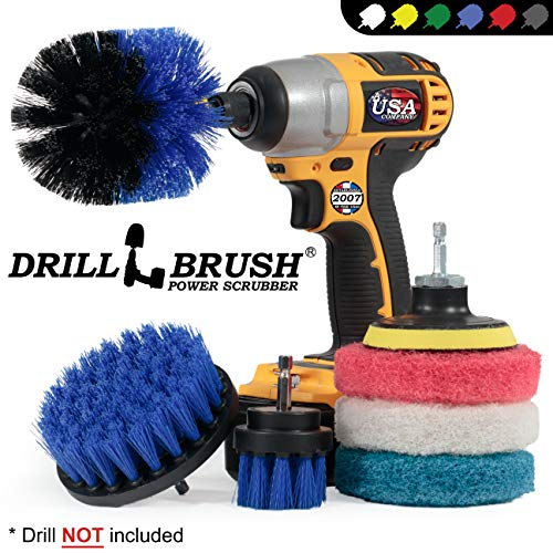 Reinigingsbenodigdheden - Borstel - Borstel Boor Bevestiging Kit - Borstel Pads - Hot Tub Cleaner Brush - Pool Cleaner Brush - Scrub Brush - Power Cleaning Brush - Roterende Boor Borstel Cordless Scrubber