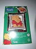 Leisure Arts Pooh Christmas Ornament Cross Stitch Kit