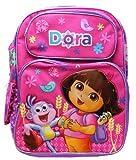 Nickelodeon El tamaño completo de color rosa dora la exploradora y botas ríe niños mochila